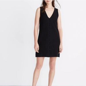 Madewell Heather Button-Front Dress